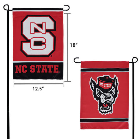 NC State Wolfpack 12.5x18 2-Sided Garden Flag