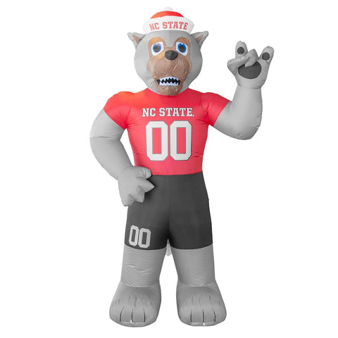 NC State Wolfpack LED Lit 7' Inflatable Mr. Wuf