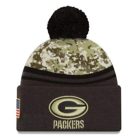 NFL 2016 Green Bay Packers Salute To Service Knit Hat