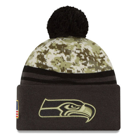 NFL 2016 Seattle Seahawks Salute To Service Knit Hat