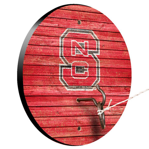 NC State Wolfpack Red Block S Hook and Ring Game