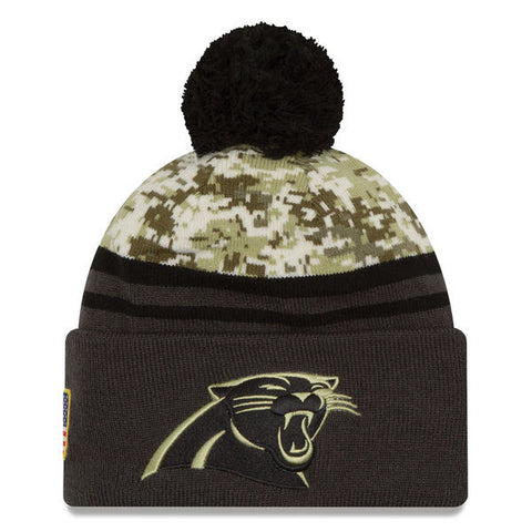 NFL 2016 Carolina Panthers Salute To Service Knit Hat