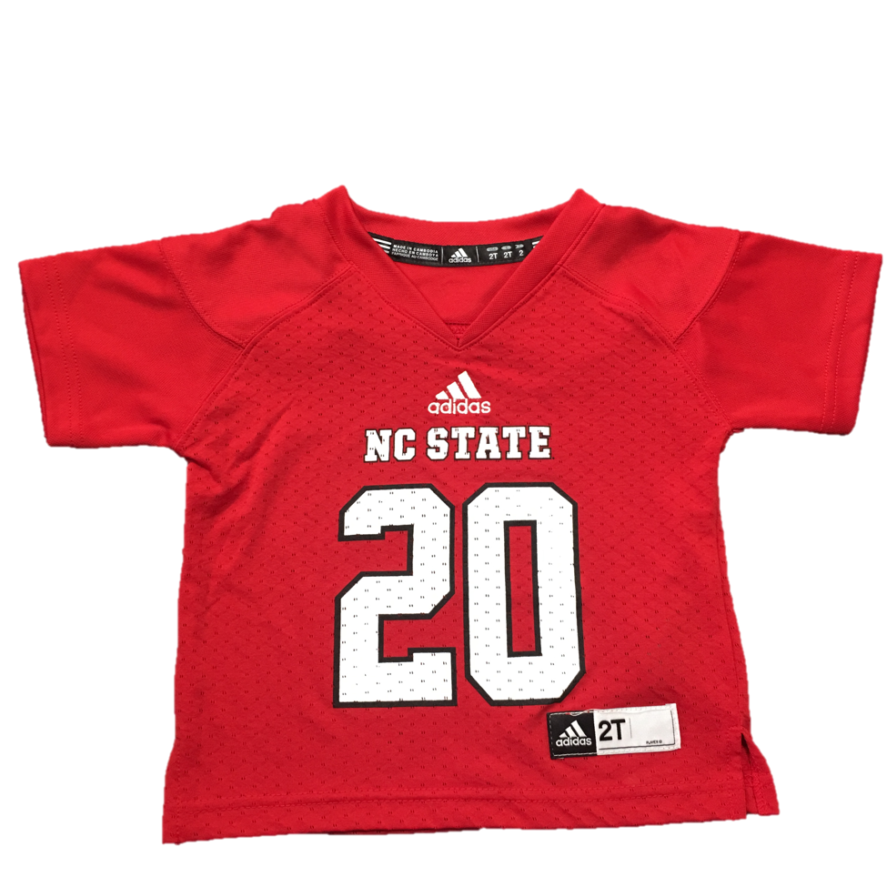 North Carolina State Wolfpack Toddler Red #20 Replica Football Jersey