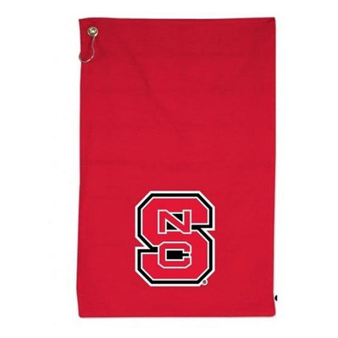 NC State Wolfpack Red Sports Towel with Grommet