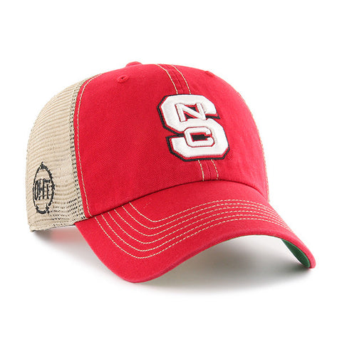 NC State Wolfpack 47 Brand OTH Red Trawler Clean Up Hat