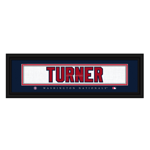 Washington Nationals Trea Turner Print