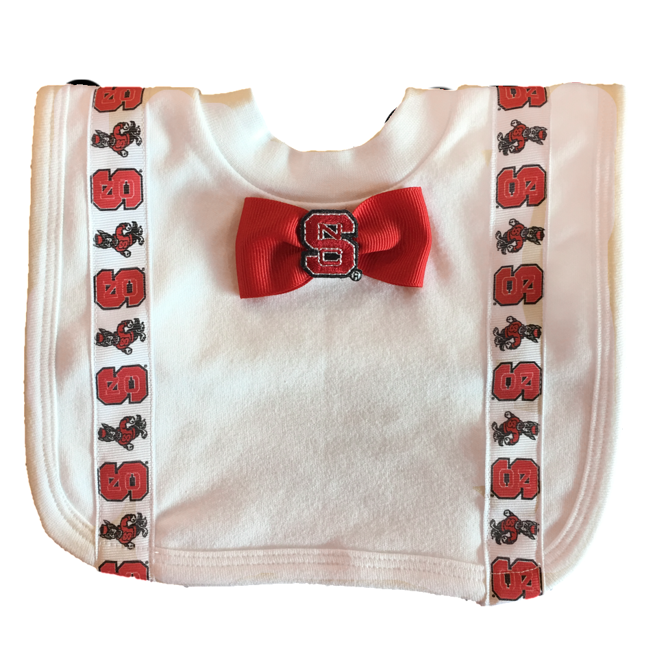 NC State Wolfpack Tuxedo Pullover Bib