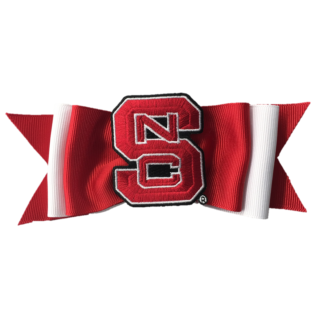 NC State Wolfpack Essentials Layered Tux Bow
