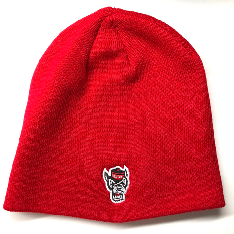 NC State Wolfpack TOW Red Classic Uncuffed Knit Hat