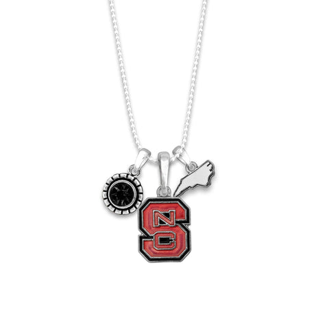 NC State Women's Home Sweet School Necklace