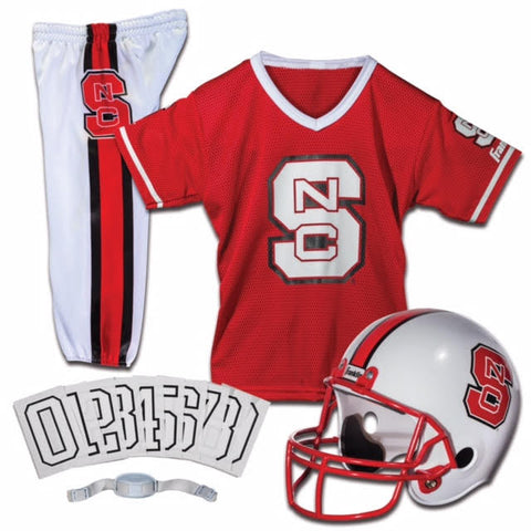 NC State Wolfpack Franklin Red Uniform Set