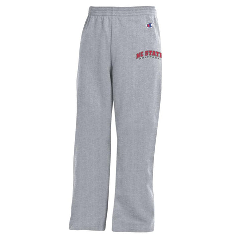 NC State Wolfpack Champion Youth Grey Sweatpants