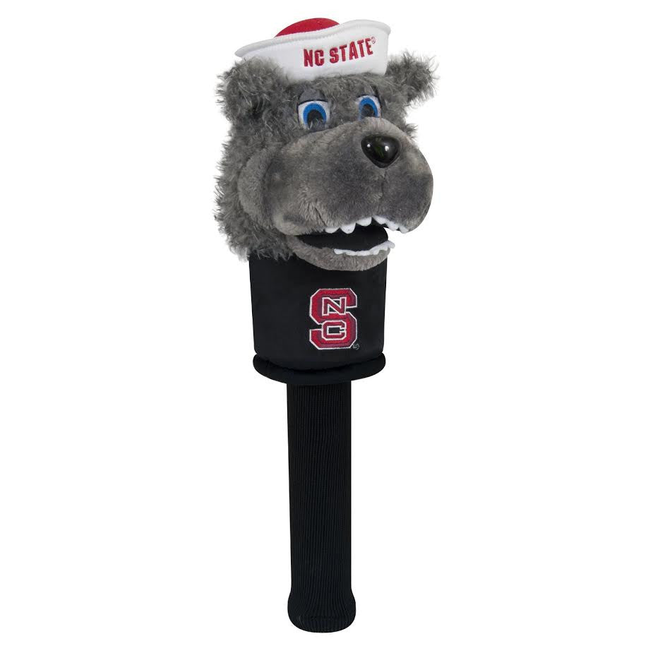 NC State Wolfpack Mascot with Sock Head Cover