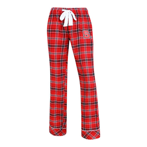 NC State Wolfpack Ladies' Captivate Flannel Pants