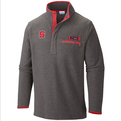NC State Wolfpack Columbia Men's Grey Harborside Jacket