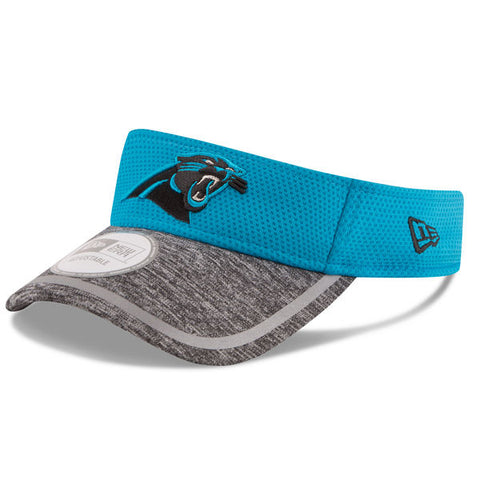 Carolina Panthers 2016 New Era Blue Sideline Visor