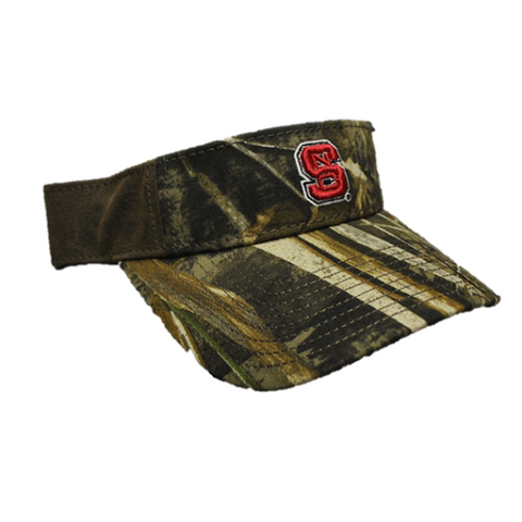 NC State Wolfpack The Game Camo Visor