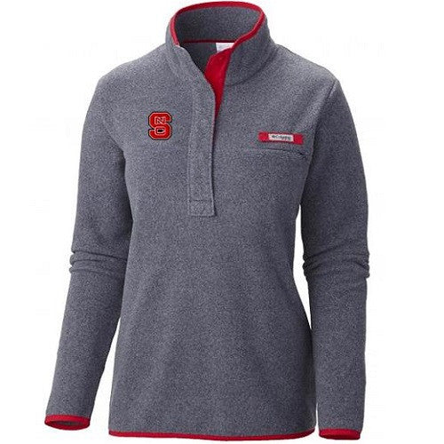 NC State Wolfpack Columbia Women's Grey Harborside Jacket