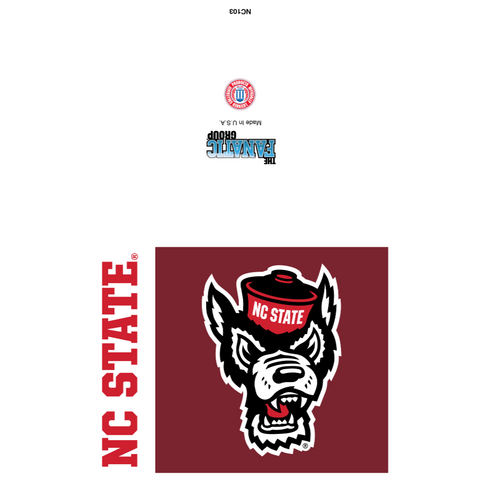 NC State Wolfpack Wolfhead Card Set