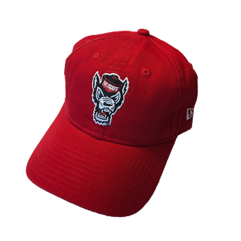 NC State Wolfpack New Era Women's Red Glisten Adjustable Hat