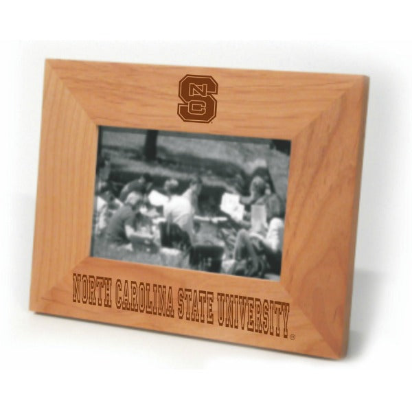 NC State Wolfpack Horizontal Wooden Picture Frame