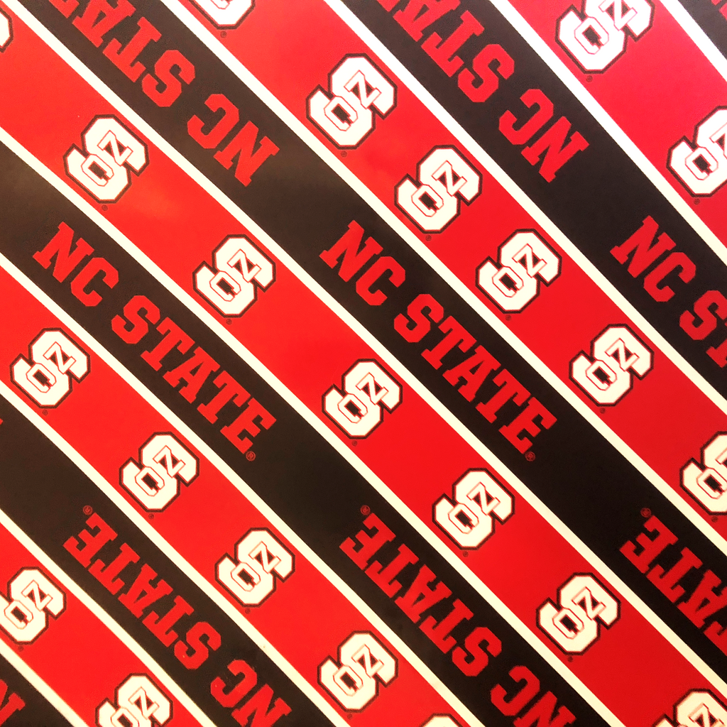 NC State Wolfpack Spirit Block Wrapping Paper