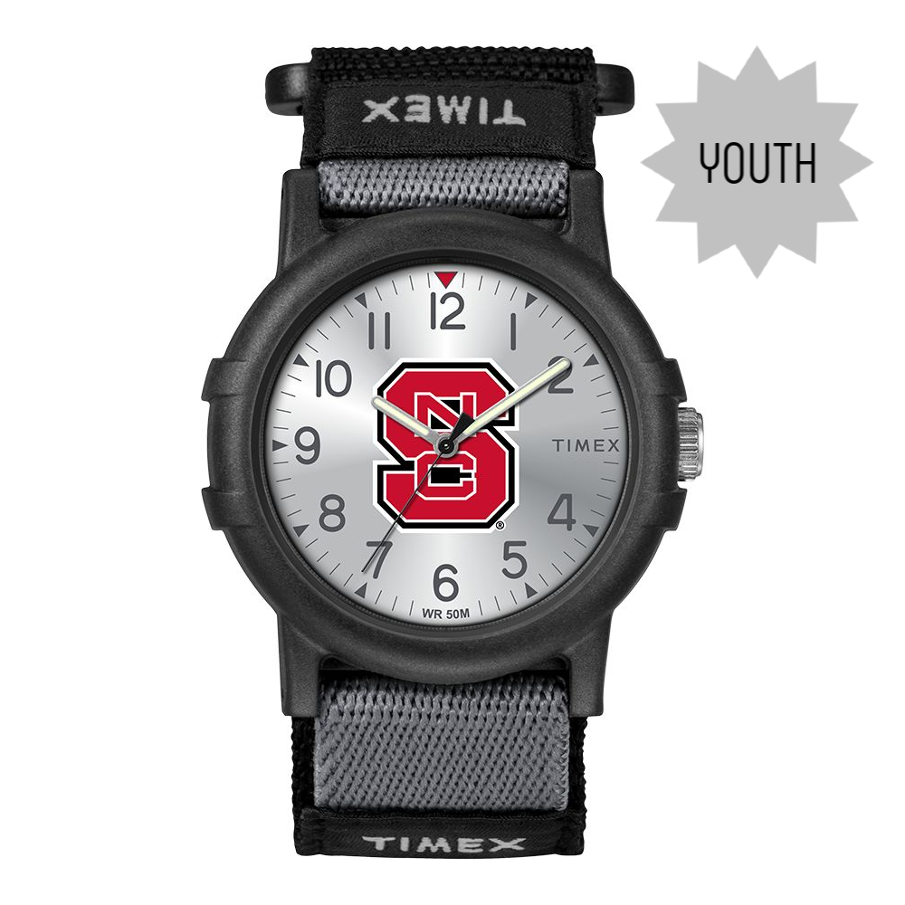 NC State Wolfpack Timex Youth Recruit Watch