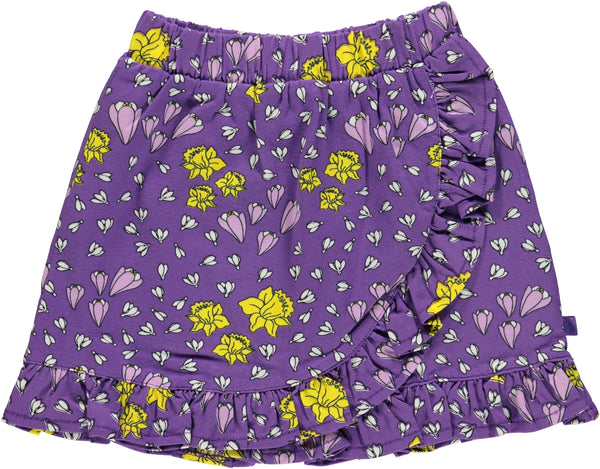 SMAFOLK organic cotton skirt SPRING FLOWERS