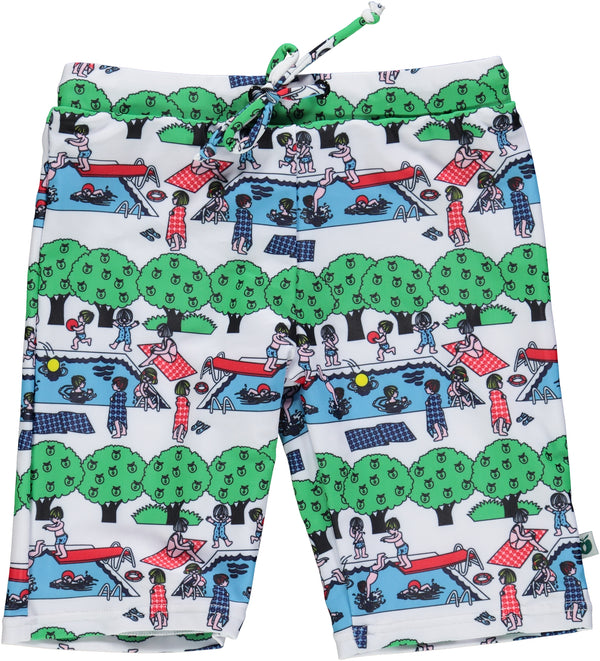 SMAFOLK swimming shorts UV50 SWIMMING POOL