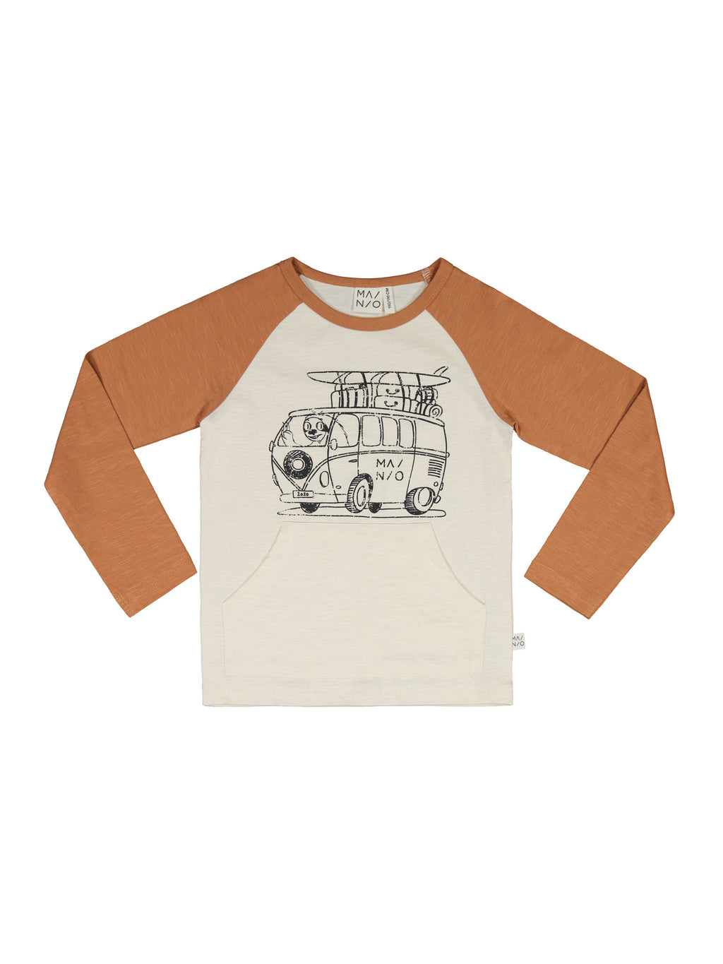 MAINIO organic cotton CAMPER VAN pocket shirt