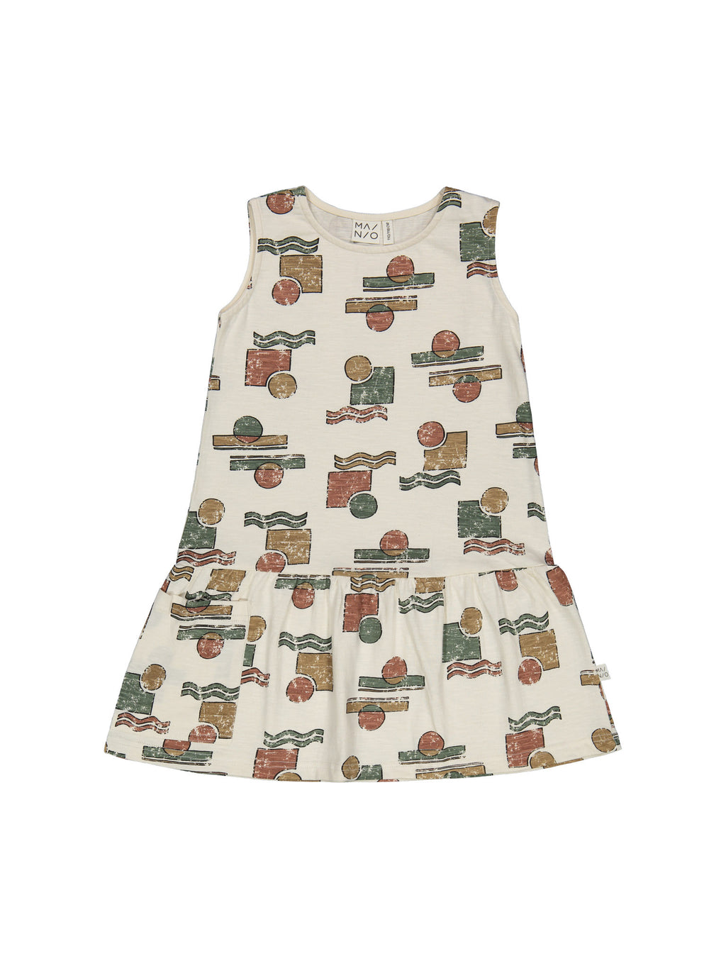 MAINIO organic cotton dress SUNSET