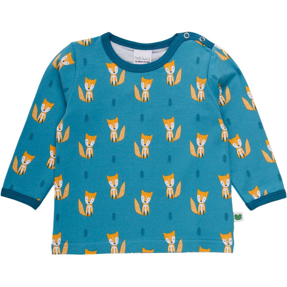 FRED's WORLD by GREEN COTTON organic cotton top FOX