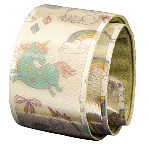 Glimmis original slap wrap reflector UNICORNS AND RAINBOWS