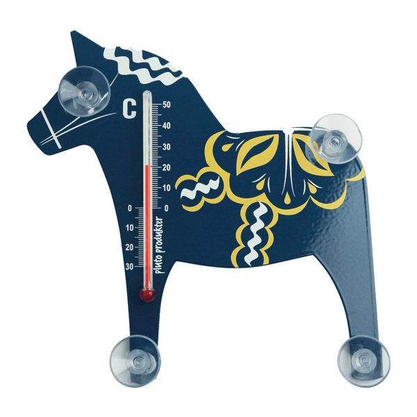 DALA HORSE window thermometer