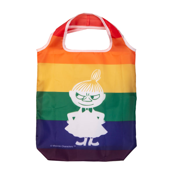 MOOMIN recycled shopping bag RAINBOW/LITTLE MY