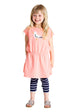 FRED's WORLD by GREEN COTTON organic cotton dress - SEAGULL
