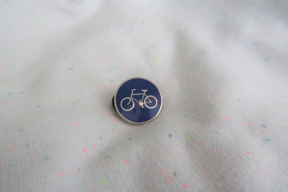 POLLY ROCKET enamel pin BICYCLE