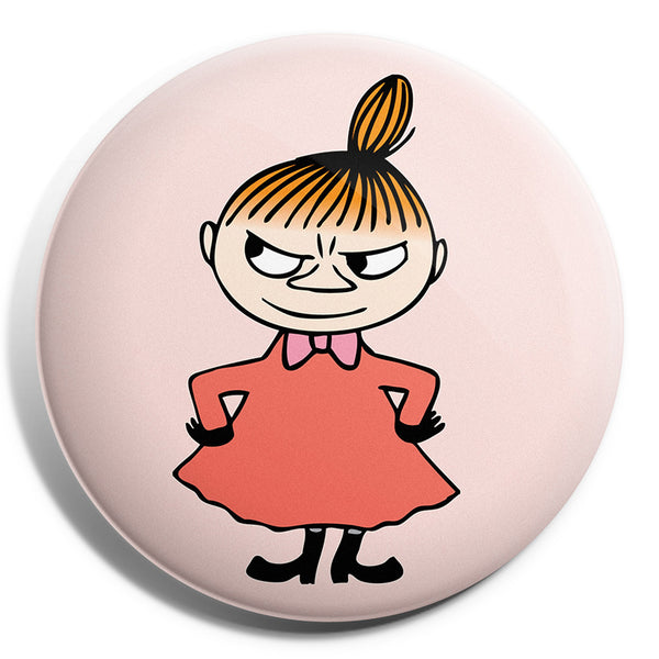 MOOMIN button badge - LITTLE MY/PINK