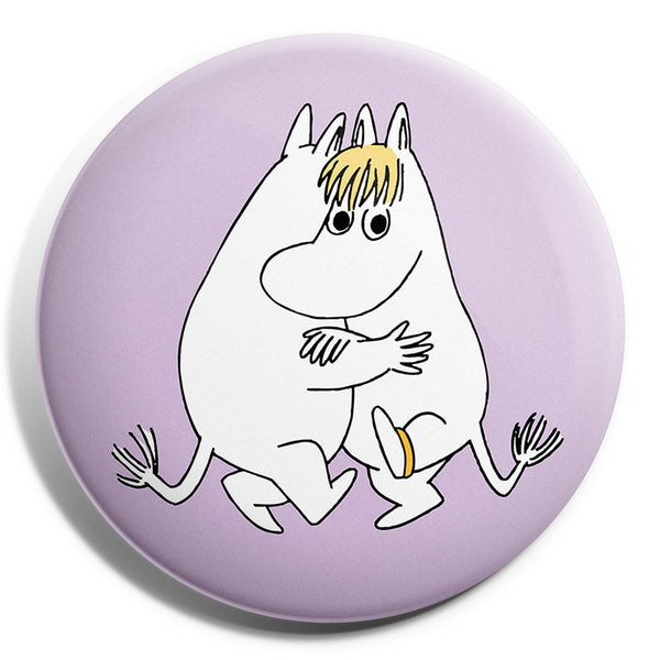 MOOMIN button badge - LOVE/PURPLE