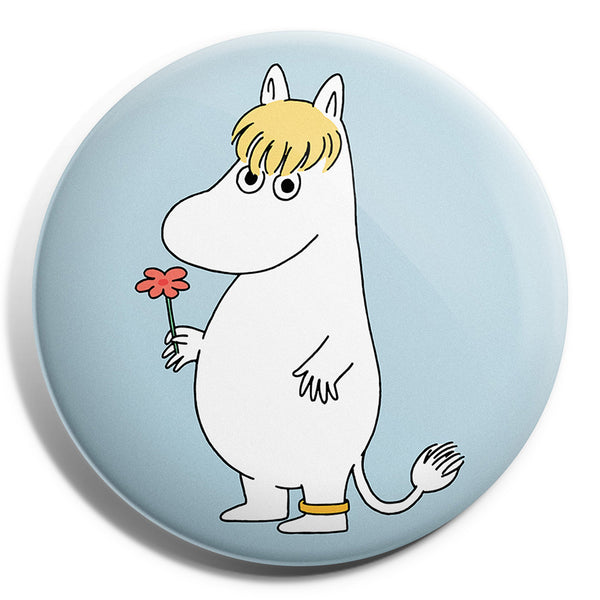 MOOMIN button badge - SNORKMAIDEN WITH FLOWER