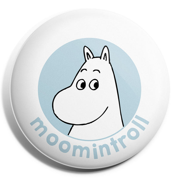 MOOMIN button badge - MOOMINTROLL