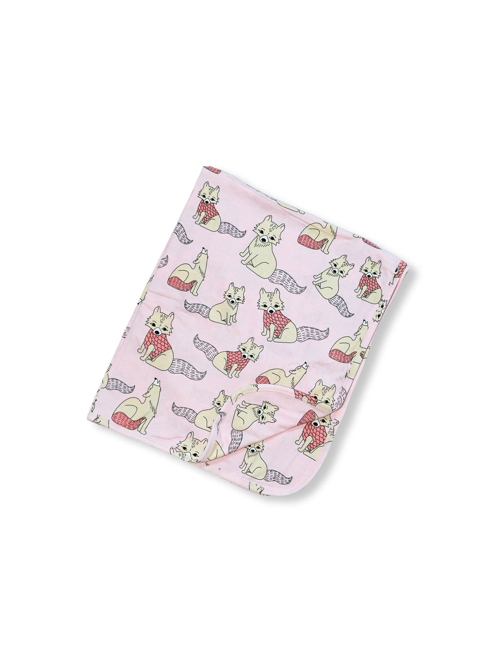 JNY kids organic cotton baby blanket POLAR FOX
