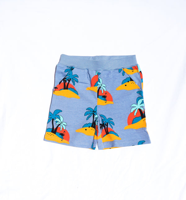 JNY colourful kids organic cotton shorts with pockets WARM WIND