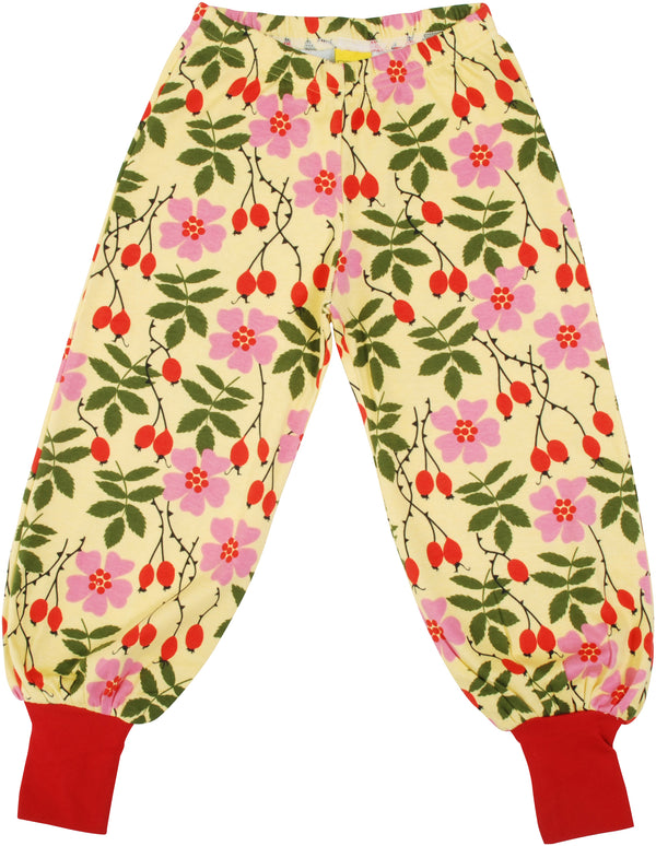 DUNS organic cotton baggy pants ROSEHIP