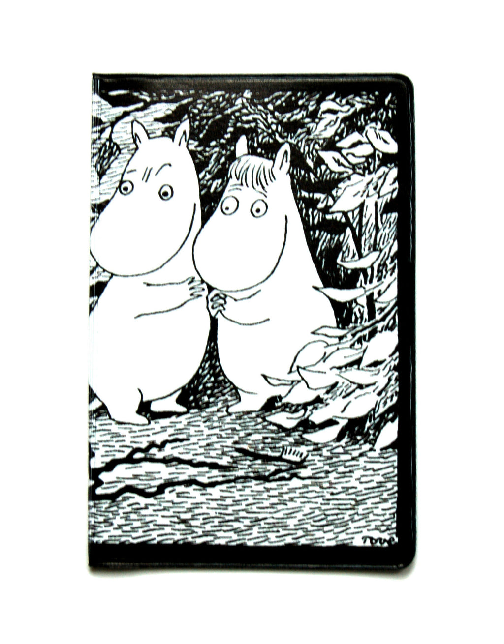 Handy - card/ticket/money holder- Moomintroll and Snorkmaiden - funky little people - quality Scandinavian organic kids clothes, gifts and Moomin products - 1