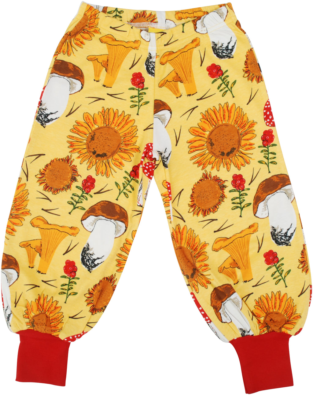 DUNS organic cotton baggy pants SUNFLOWER/YELLOW
