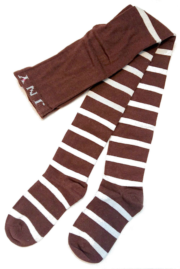 JNY tights BROWN/STRIPES