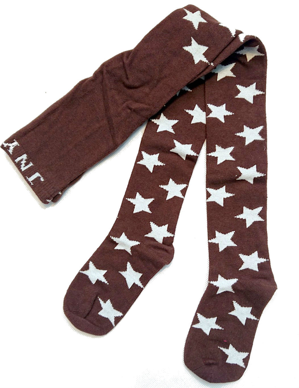 JNY tights BROWN/STARS