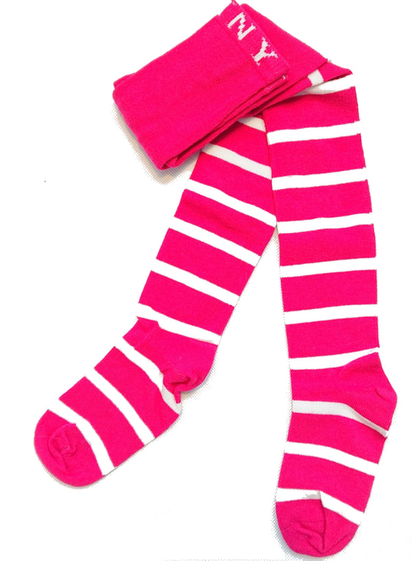 JNY tights PINK/STRIPES