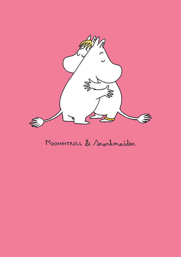 MOOMIN card - LOVE/PINK